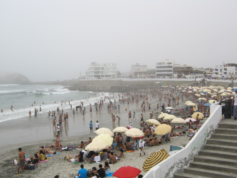 Plage de la Punta Hermosa, Pérou