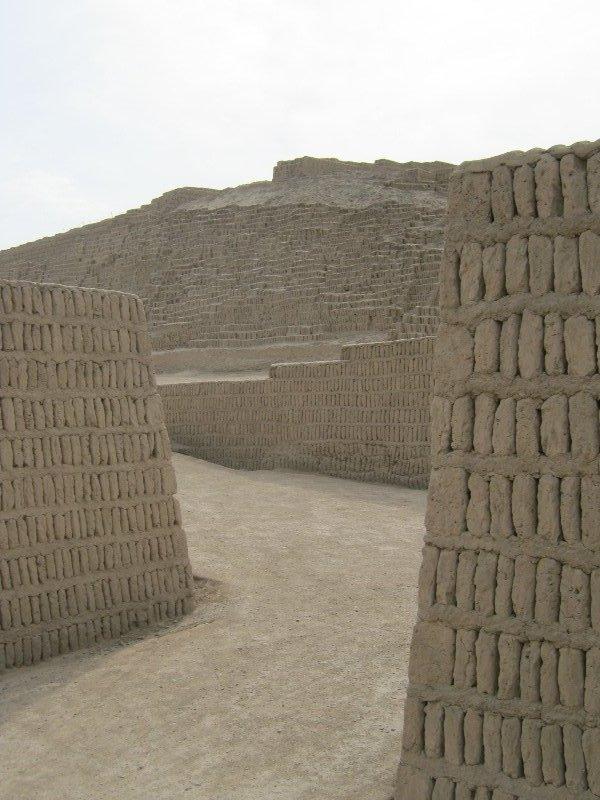 Pyramide de Huaca Pucllana, Lima