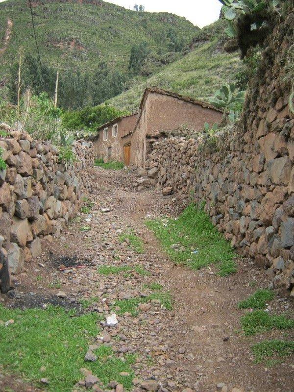 Chemin vers Pisac