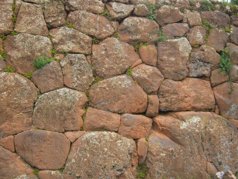Mur sur le site de Pisac