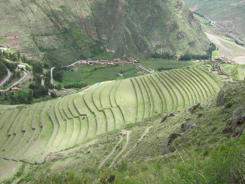 Terrasses sur le site archéologique de Pisac