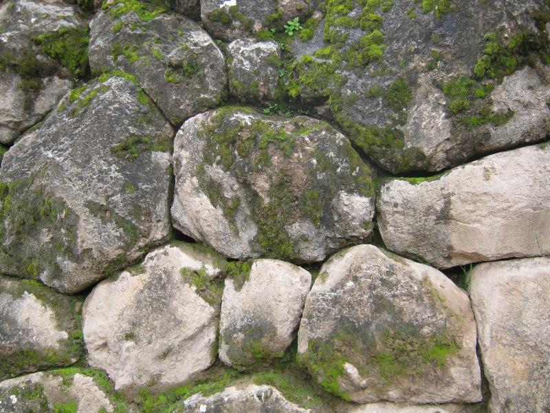 Mur pré inca sur le site de Tambomachay