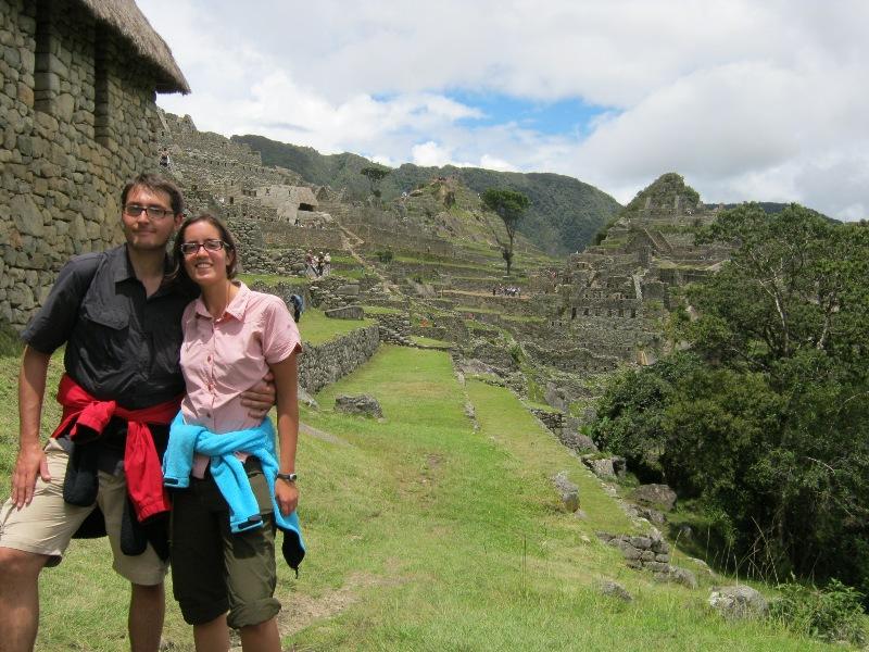 Rémi et Romane au Machu Pichu
