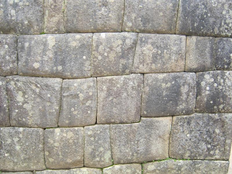 Mur sur le site du Machu Pichu