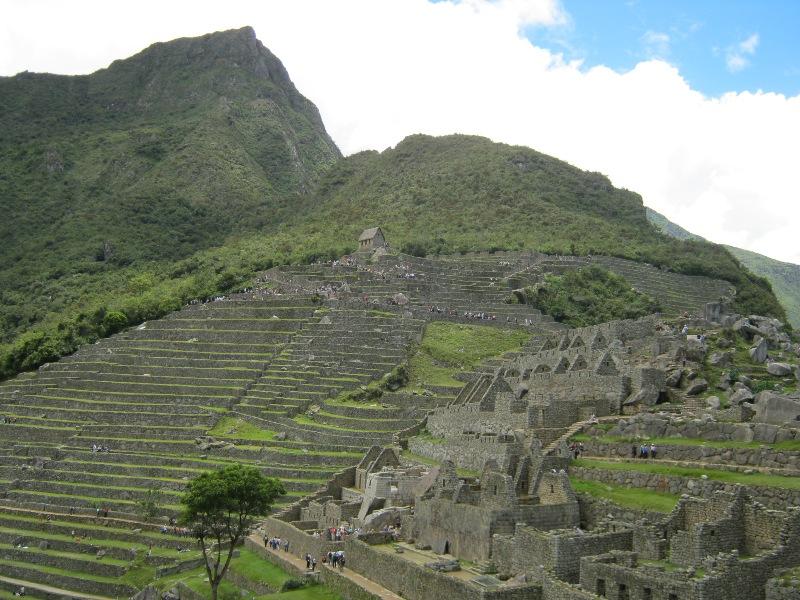 Terrasses agricoles du Machu Pichu