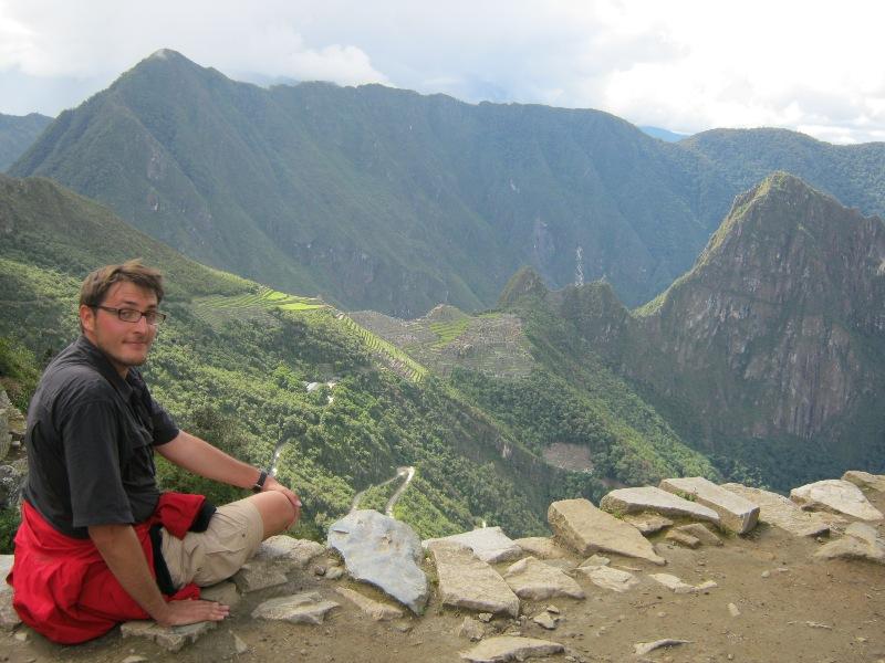 Vue du Machu Pichu de la Porte du Soleil
