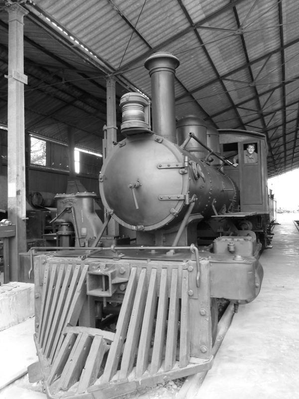 Locomotive, musée ferroviaire de Tacna, Pérou