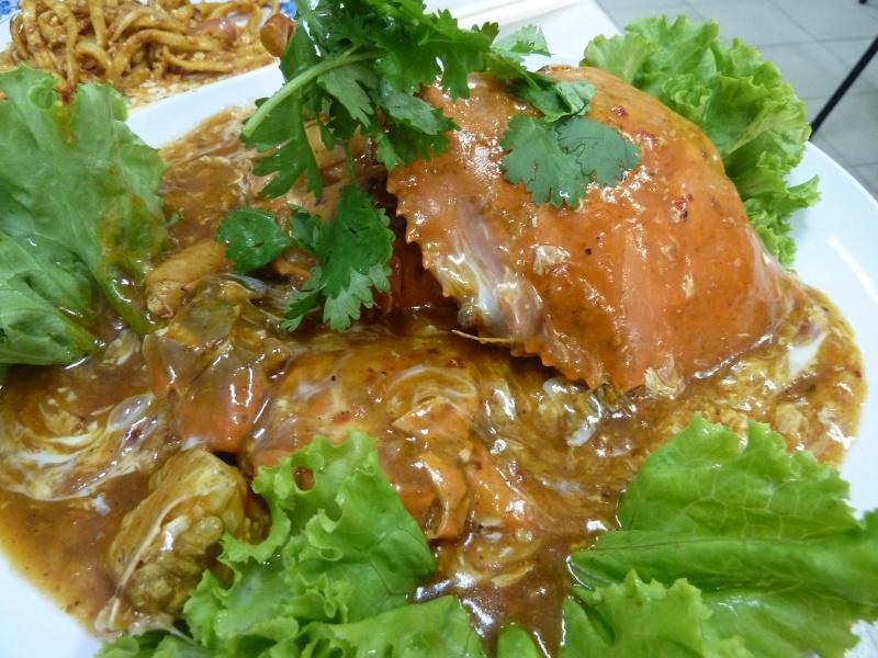 Chilli crab, Singapore