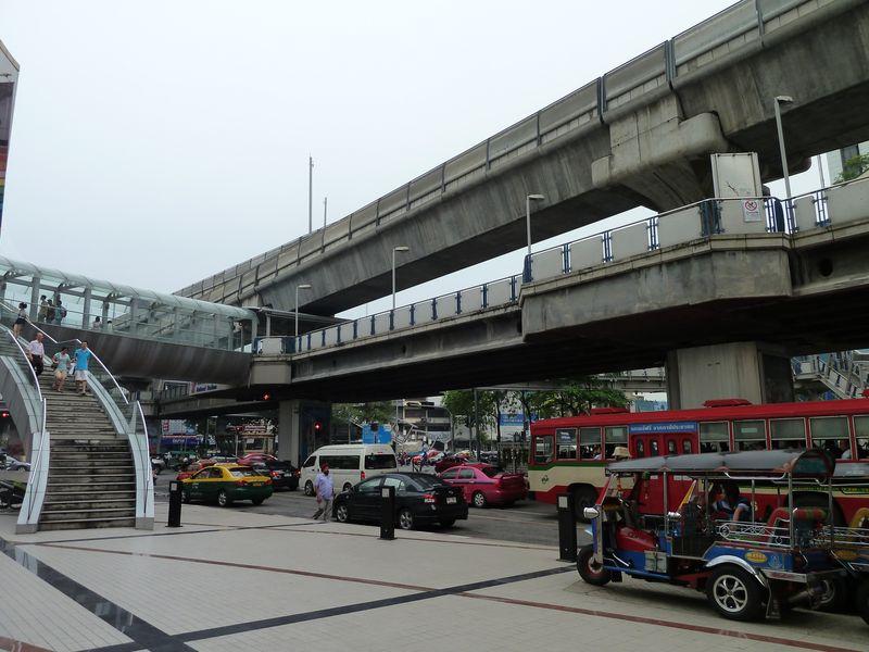 Quartier de Siam Square, Bangkok, Thailande