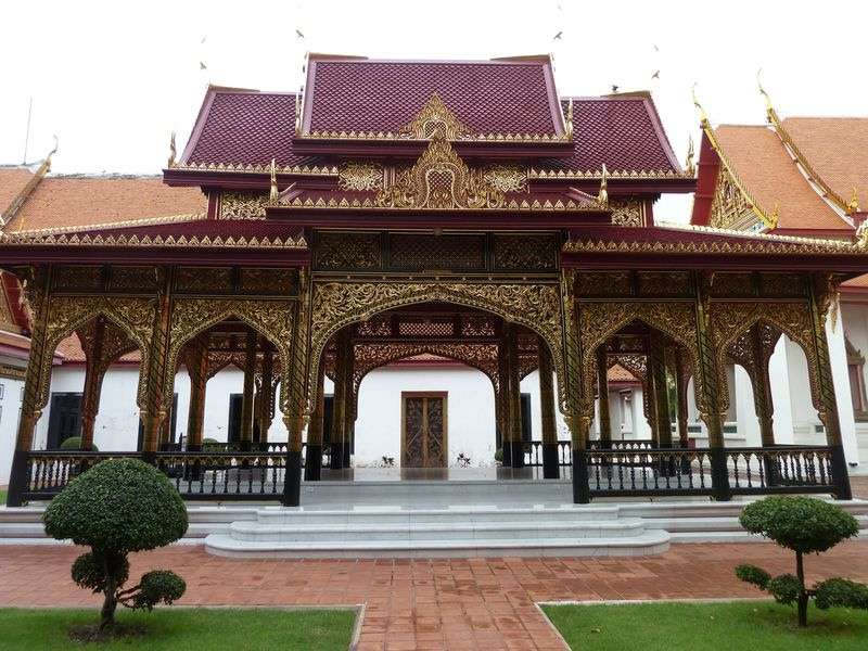 Au musee national de Bangkok, Thailande