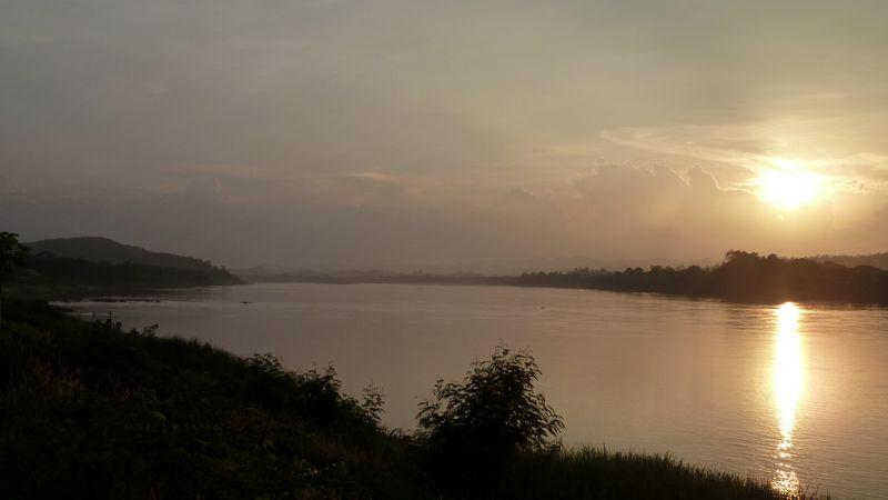 Mekong, Chiang Khan, Thaïlande